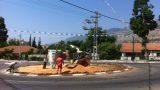 כיכרות רחוב הירדן - לפני